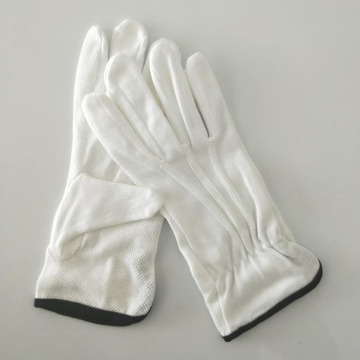 Military Uniform Marching Band Safety Cotton Gloves