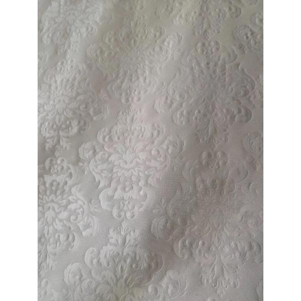 polyester emboss fabric for bedsheet