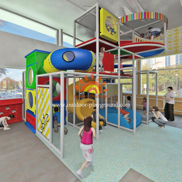 Adventure Steel Indoor Playground Structure