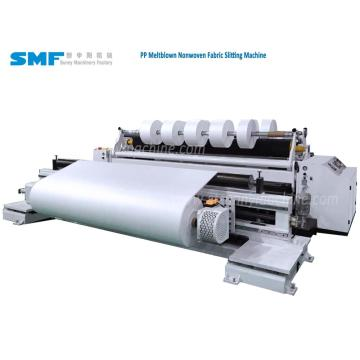 Melt blown nonwoven fabric Slit Rewind Machine