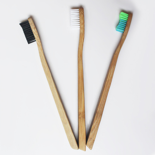 Eco-friendly Bamboo Toothbrush Customizable LOGO Toothbrush