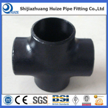 DN100  Sch40s cross pipe fitting