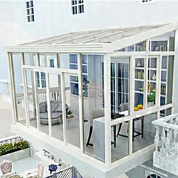 Residential Garden Conservatory Prefabricated Sunroom