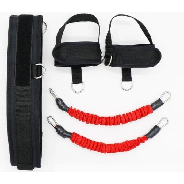 Leg Resistance Jump Trainer with Foot Straps