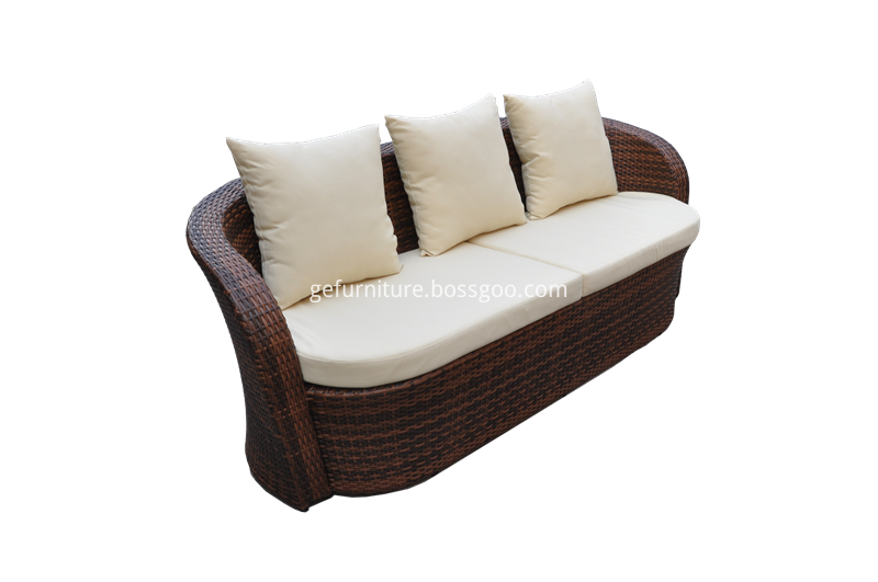 S0213 Wicker Sofa