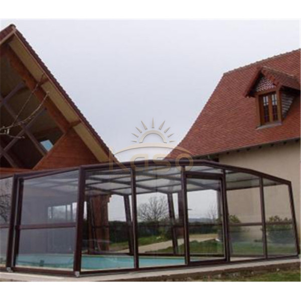 Swimming Cover Roof Cost Retractable Pool Enclosure