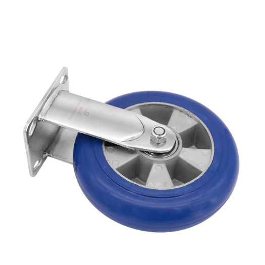 Heavy Duty 8 Inch Rubber Caster Wheels