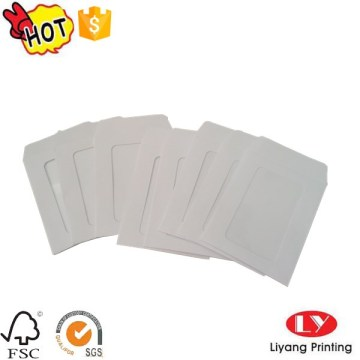 White Paper Envelope with PVC Window