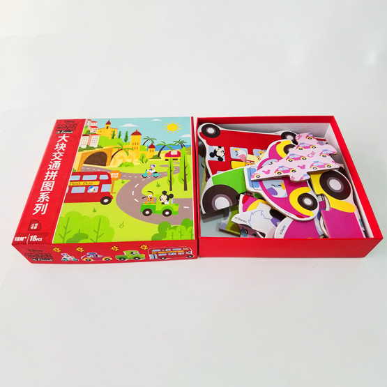 Custom Cardboard Mini Jigsaw Puzzle Game Printing