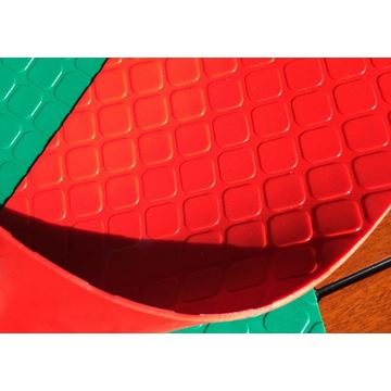 Coin roll mat leaf carpet protect floor