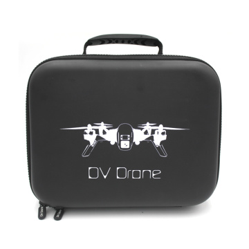 China supplier leather customized logo hard waterproof drone case