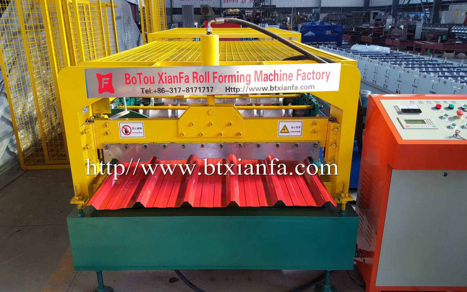Bo tou Roll Forming Machine