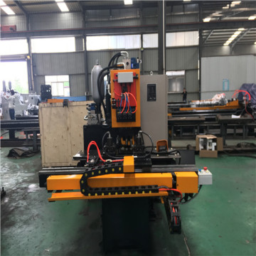 Hydraulic Press Punching Marking CNC Machine for Plate