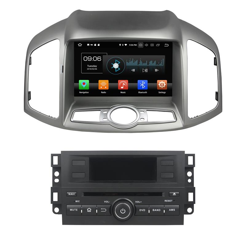 Chevrolet Capativa 2016 android 8.0 car stereo systems (1)