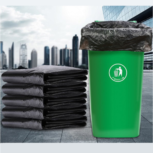 HDPE Plastic Biodegradable Disposable Garbage Bag Factory