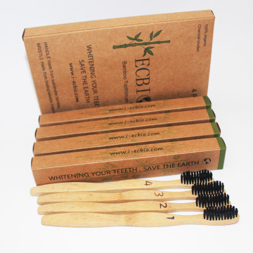 ECO Packaged Bamboo Toothbrush