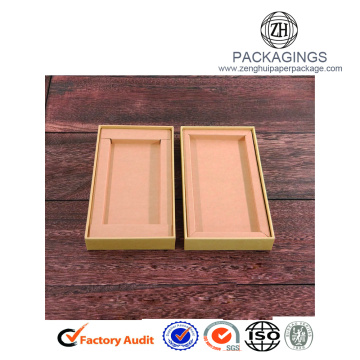 Promotional kraft paper cell phone case packaging