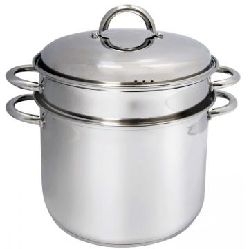 3pcs stainess steel pasta pot