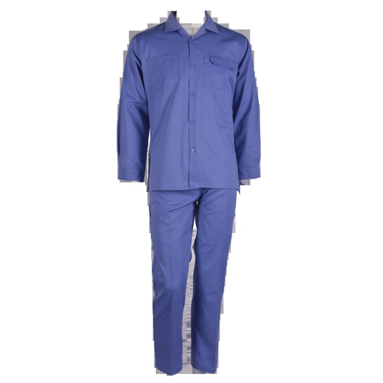 Petrol Blue Two Pieces Work Suit