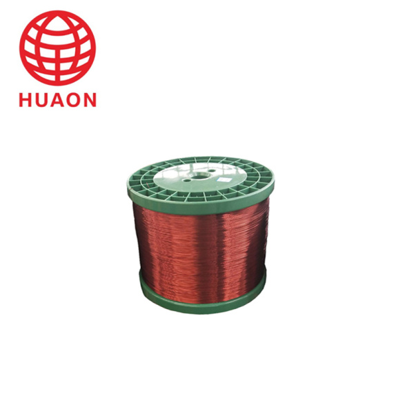 Colorful enameled copper wire winding spool