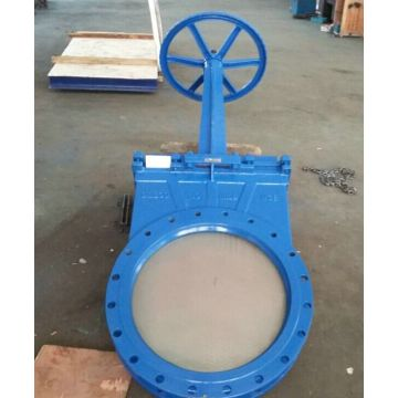 Flange type knife gate valve