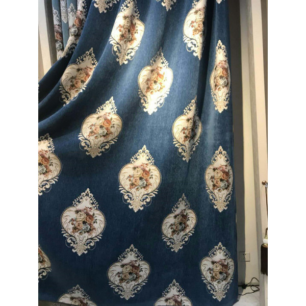 2018 Chenille Large Jarquard Window  Fabric of Curtain