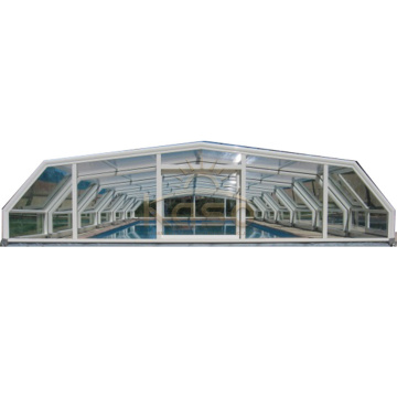 Safety Polycarbonate Glass Swimming Pool Cover Philippine