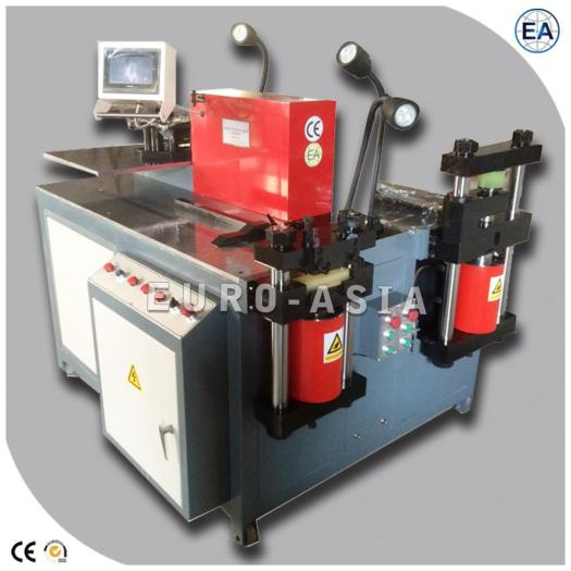 CNC Busbar Machine With punch shear and bend