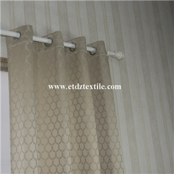 New Jacquard Flower Pattern Of Window Curtain