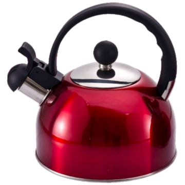 2.5L lime green tea kettle