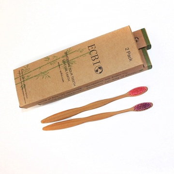 Eco-Friendly Bamboo Nano Charcoal Toothbrush