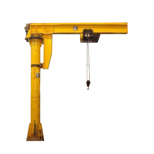 Electric Fixed Column Slewing Jib Crane
