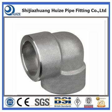 90 degree pipe elbow socket weld end