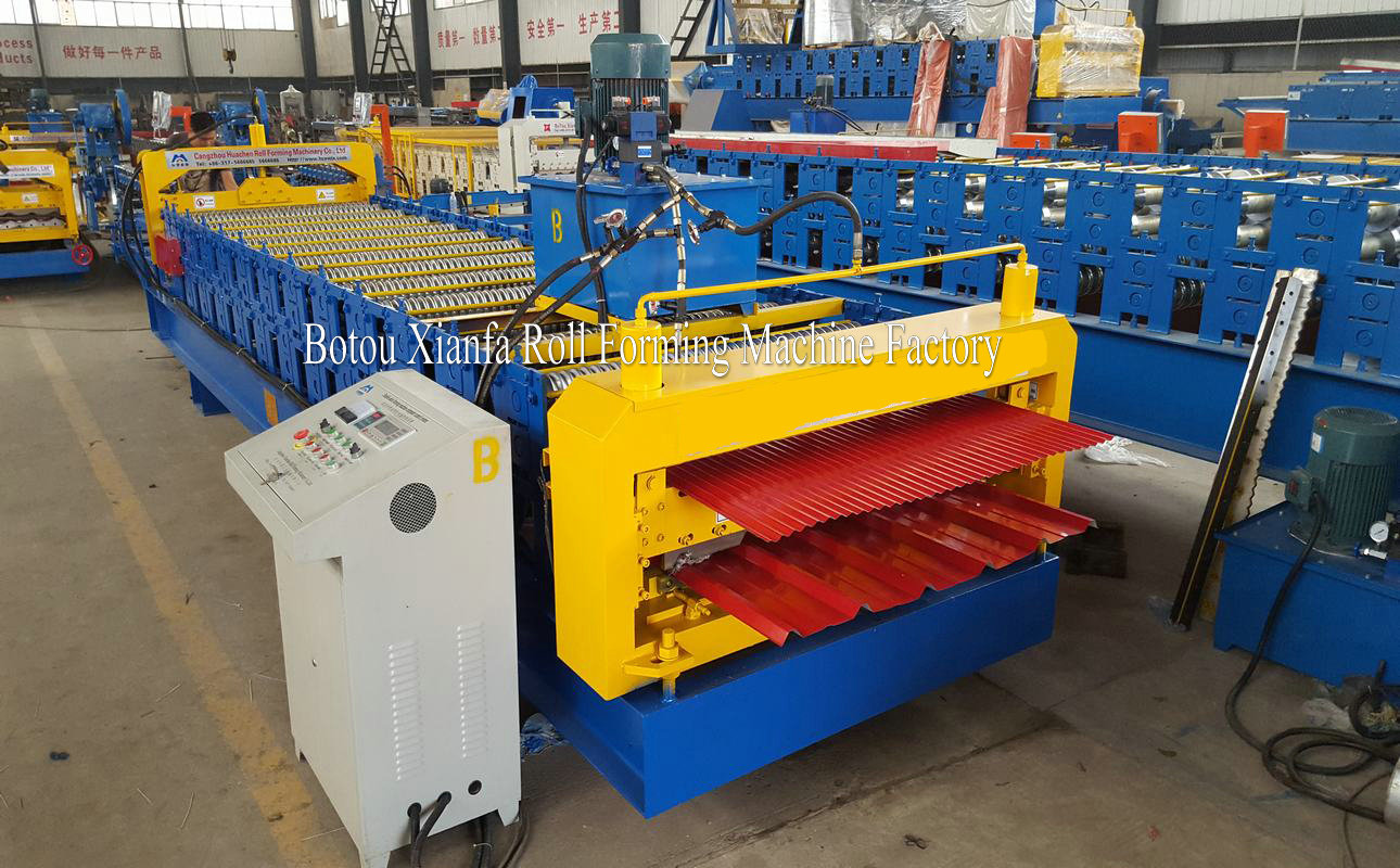 Double Deck IBR and Corrugated Equipment