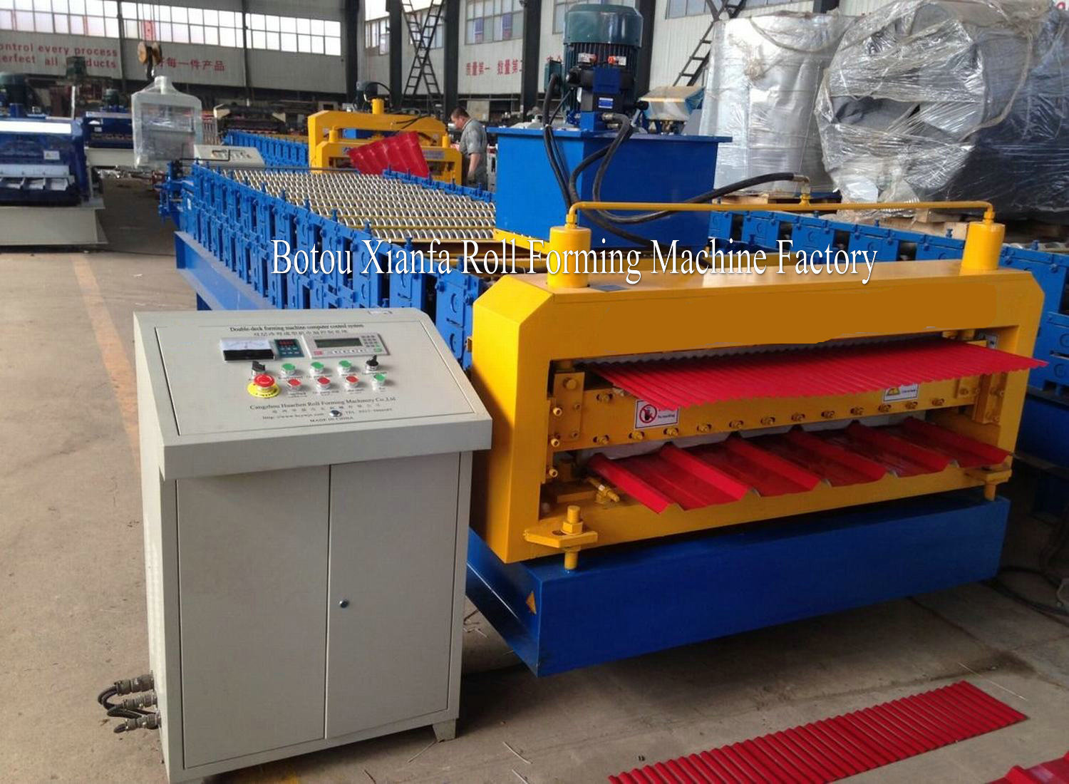 roofing machinery make