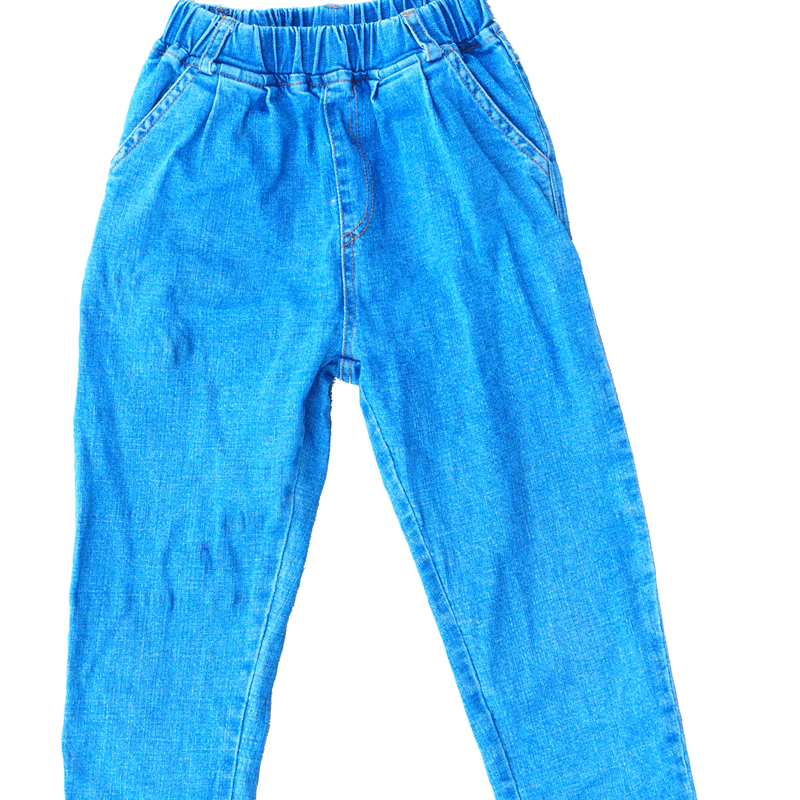 Cropped Jeans Used Clothing Bales