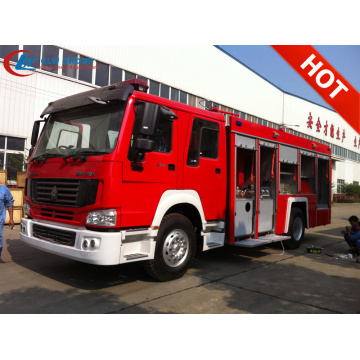 2019 Exporting Algeria SINOTRUCK powder fire fighting truck
