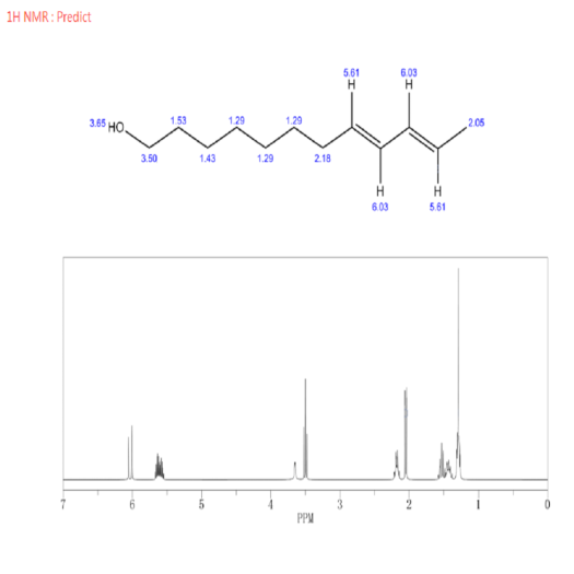 High purity codlelure 8 10-Dodecadien-1-ol CAS 33956-49-9