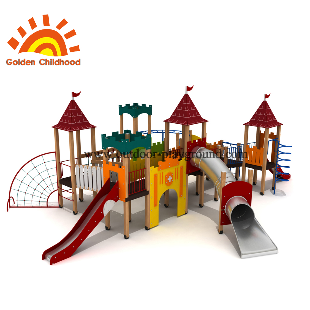 Tower Combination Slide Tube Playground
