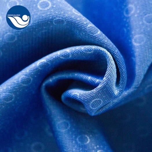 Classical 100% Poly Tricot Soft Embossed Fabric