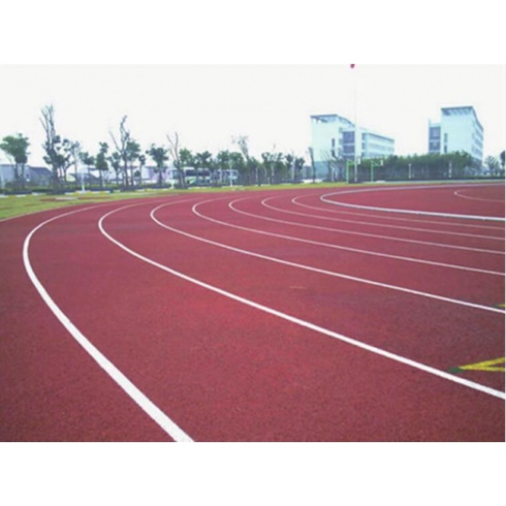 All Weather IAAF Certified 5:1 Pavement Materials  Courts Sports Surface Flooring Athletic Running Track