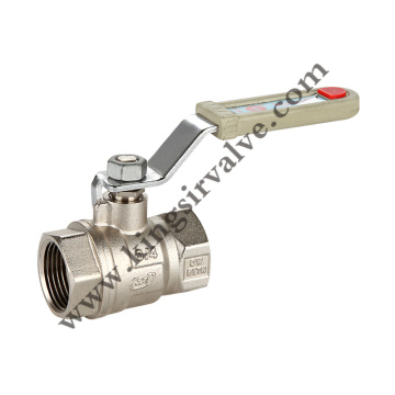 Nickel plated ball valves