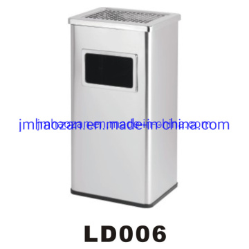 High Quality Square Stainless Steel Trash Bin, Ash Dustbin