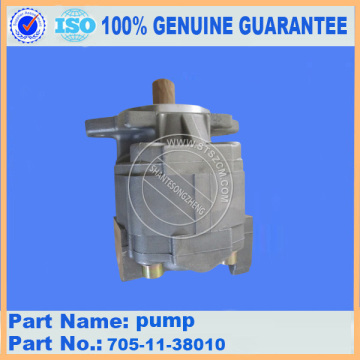 Komatsu gear pump ass'y 705-11-38010 for D65E-12