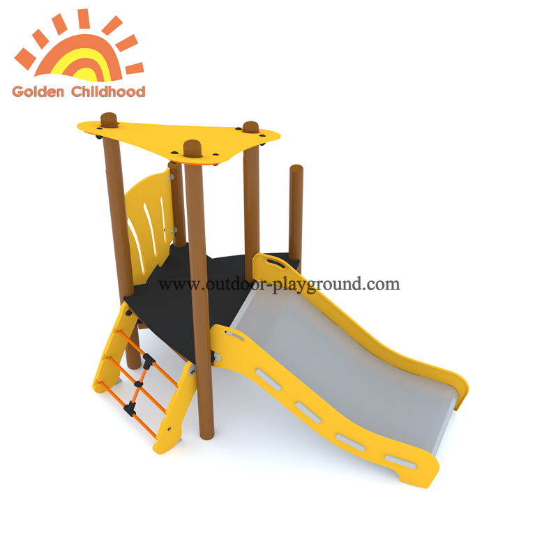 Simple Outdoor Playground Slide