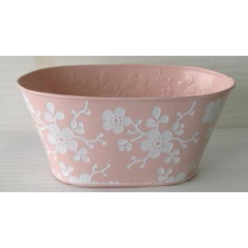 European stamping three-dimensional flower bucket