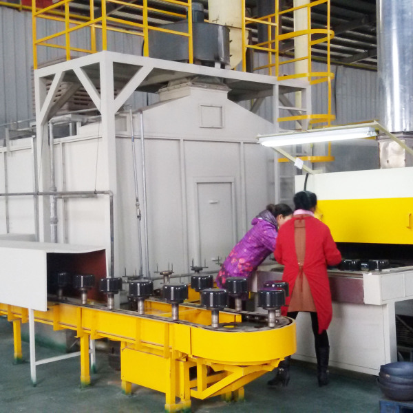 China Popular Durable Efficient Automatic Non-stick Coating Equipment