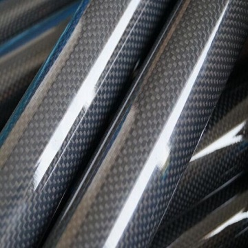 New Style Carbon Fiber Product Type Carbon GlassTube
