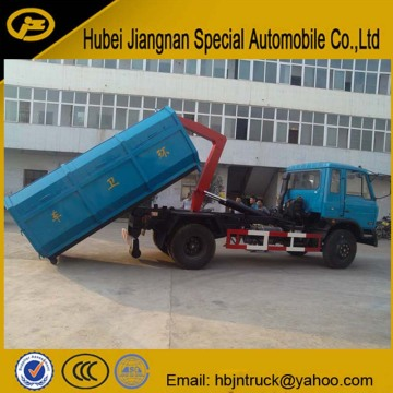 Dongfeng Hydraulic Bin Lifter Garbage Truck