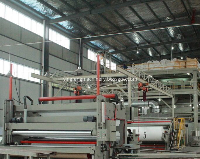 pp nonwoven extruder machinery